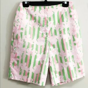 Vintage 1960s Lilly Pulitzer Bermuda shorts xsmall